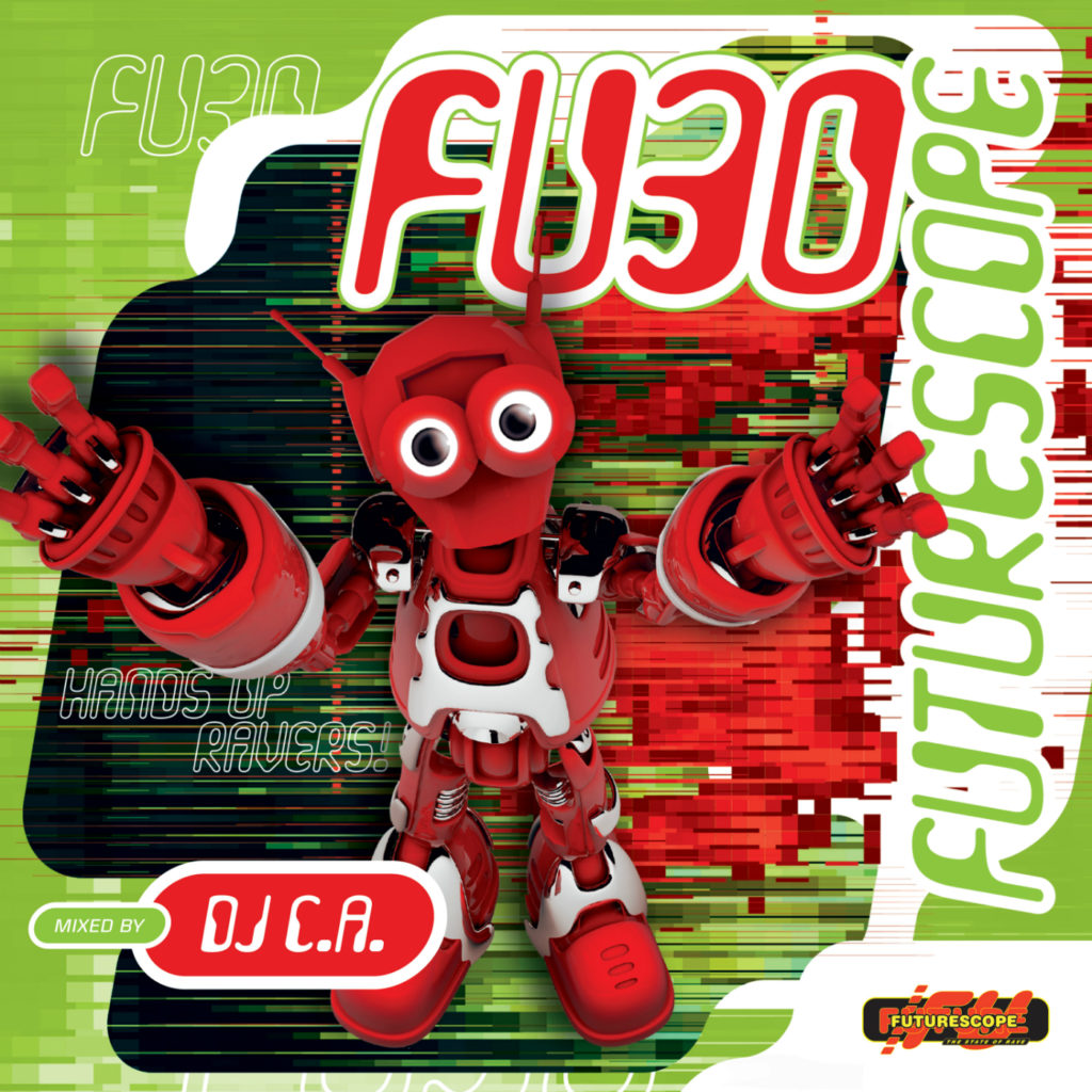 DJ C.A. - Futurescope F-03.5 - Overheat! The Summer Edition