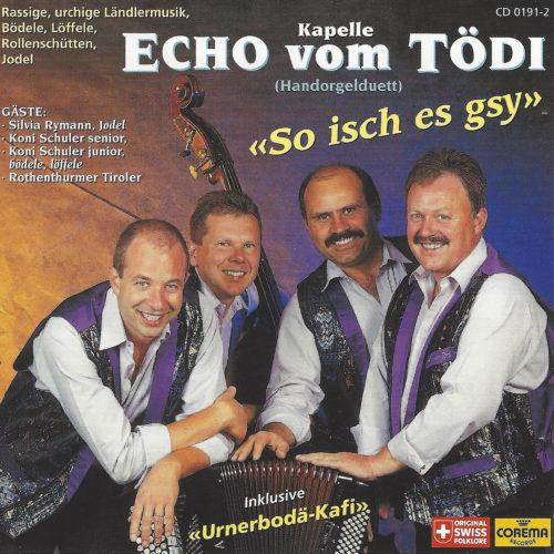 Kapelle Echo vom Tödi – So isch es gsy