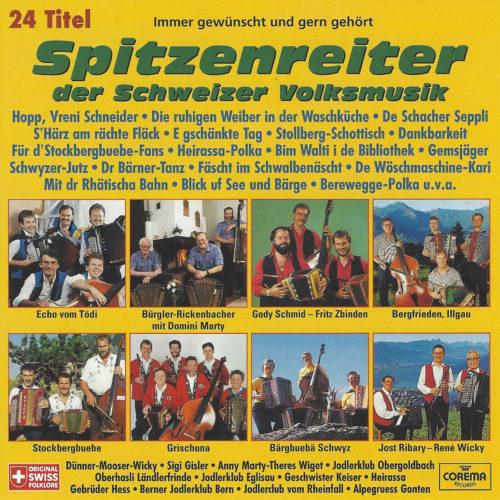 Various Artists – Spitzenreiter der Schweizer Volksmusik