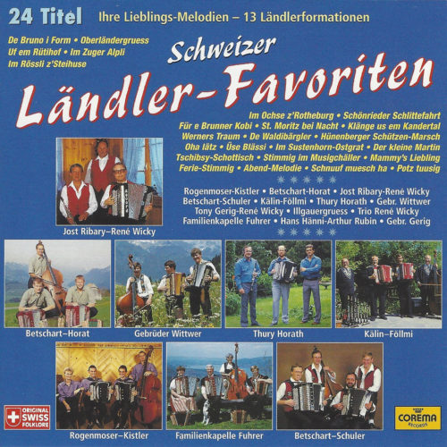 Various Artists – Schweizer Ländler-Favoriten