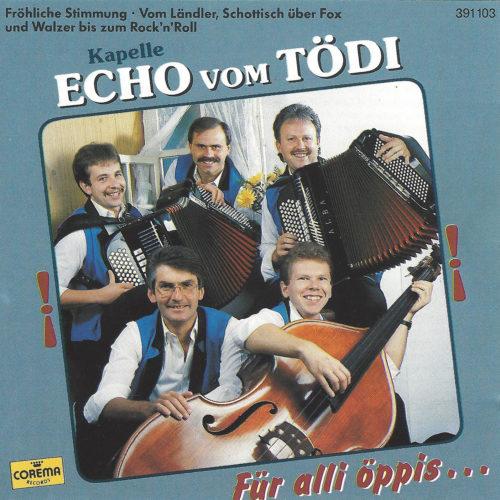 Kapelle Echo vom Tödi – Für alli öppis…