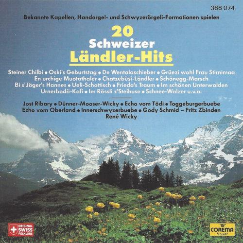 Various Artists – 20 Schweizer Ländler-Hits
