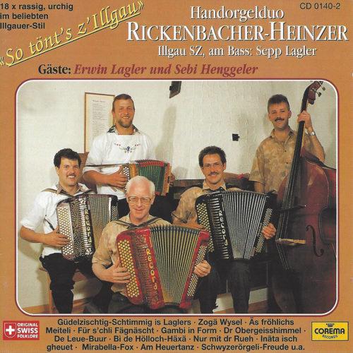 Handorgelduo Rickenbacher-Heinzer (Illgau SZ) – So tönt's z'Illgau