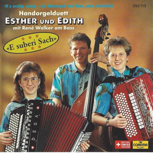 Handorgelduett Esther und Edith – E suberi Sach