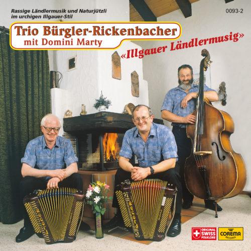 Trio Bürgler-Rickenbacher mit Domini Marty – Illgauer Ländlermusig