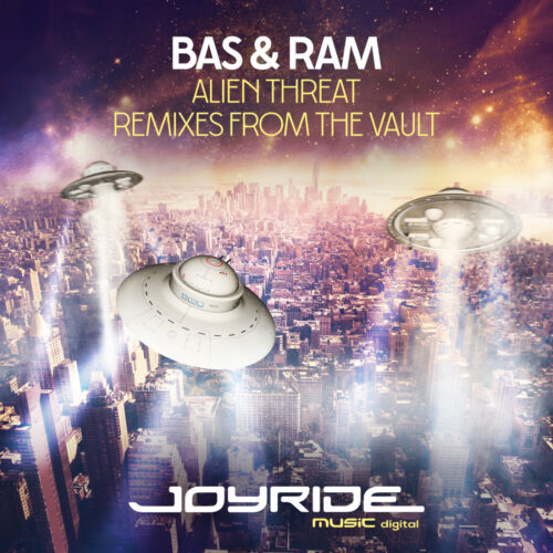 Bas & Ram – Alien Threat (Remixes from the Vault)